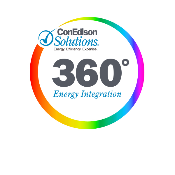 ConEdison Solutions 360 logo designed by Tara Framer Design