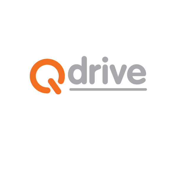 Q-Drive logo designed by Tara Framer Design