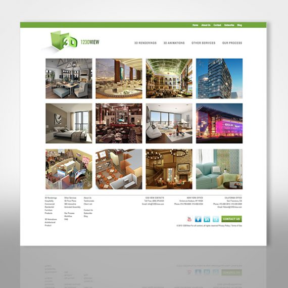 123DView Web Site designed by Tara Framer Design