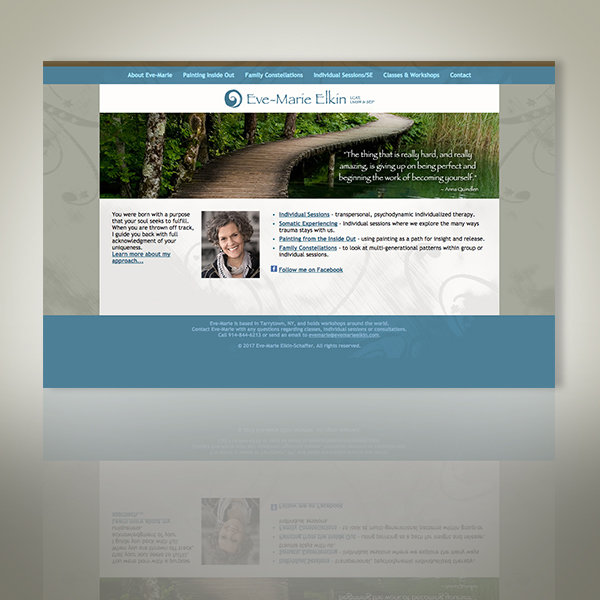 Eve-Marie Elkin-Schaffer, LCAT, LMSW, SEP Web Site