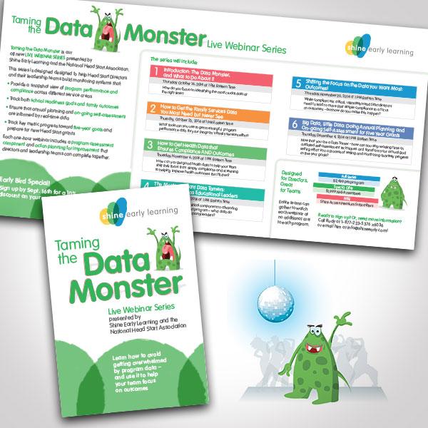 Taming the Data Monster by Tara Framer Design