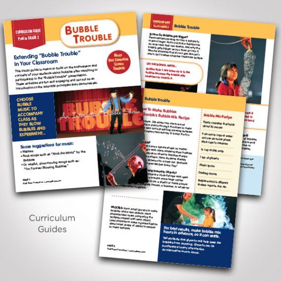 Bubble Trouble Curriculum Guide by Tara Framer Design